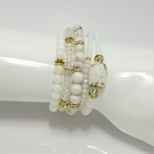 White Out Wrap Bracelet