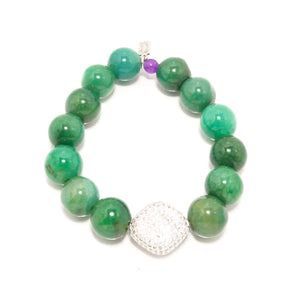 Greeny Beaded Bracelet Bundle