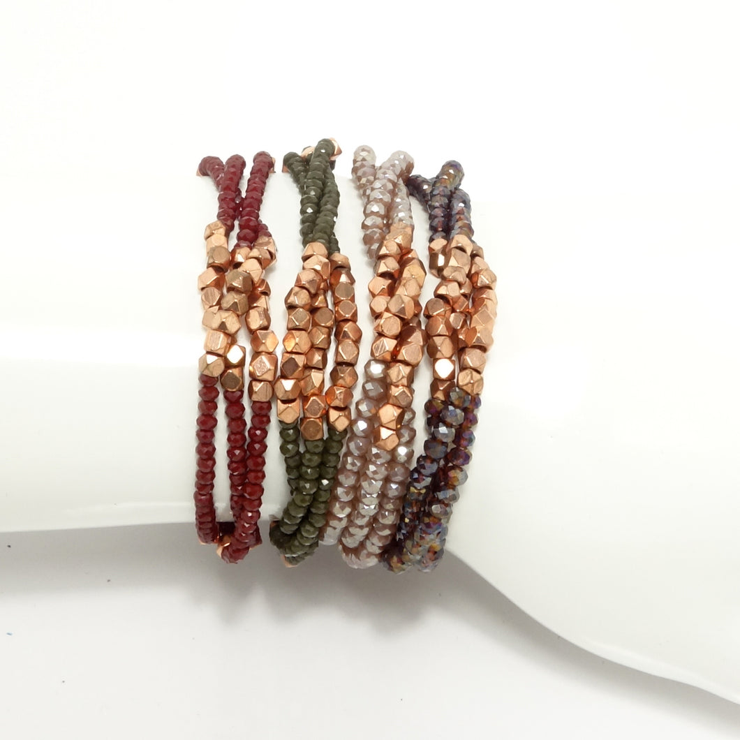 Rose-Gold Multi-Cluster Sets