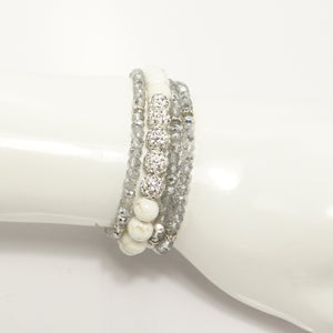 Diamonds are 4 Ever Beaded Bracelet Set