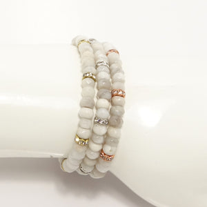 Happily Ever After Beaded Bracelet Set