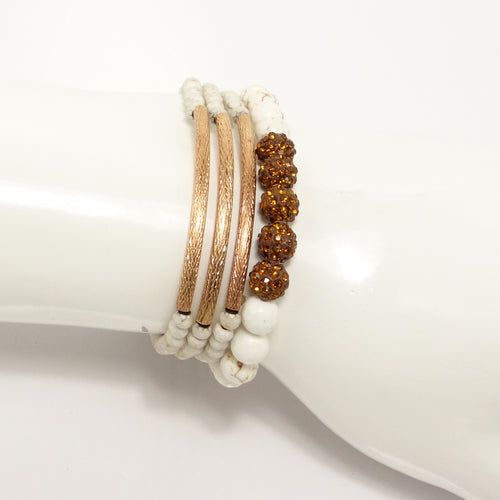 New Fiance Beaded Bracelet Set