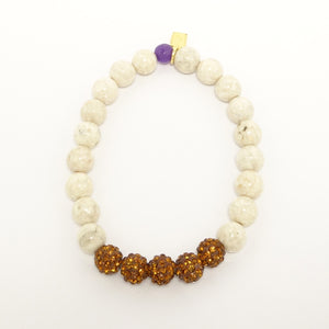 Natural Jasper Rainbow Beaded Bracelet Set