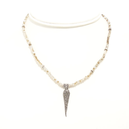 Tear Drop Black Diamond Choker