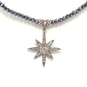 Star Black Diamond Choker