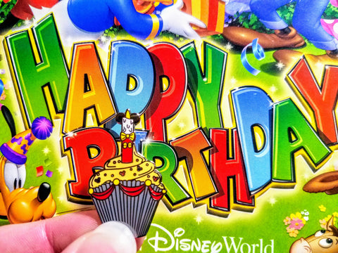 Mickey Birthday cupcake