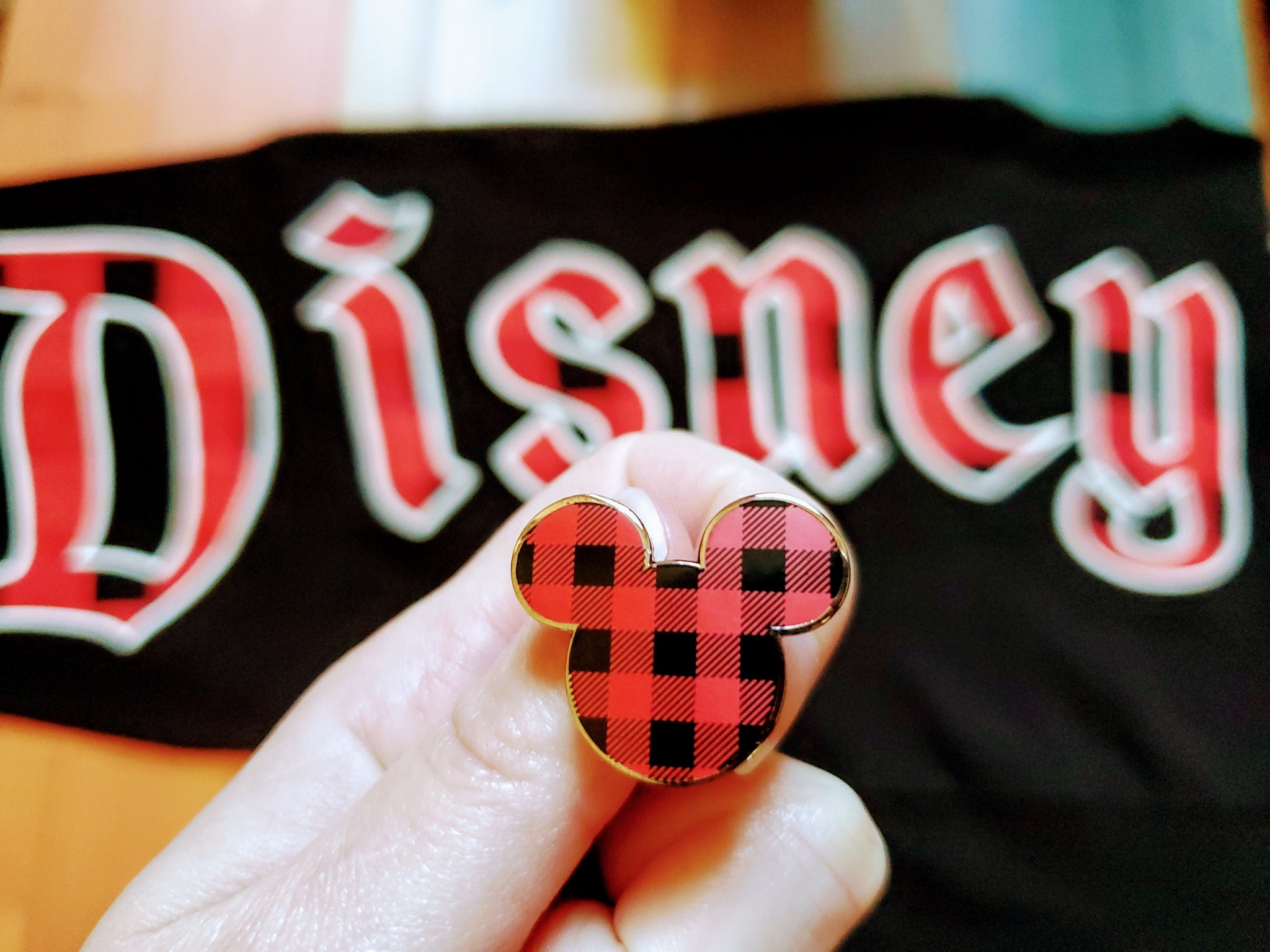 Buffalo Plaid Mickey