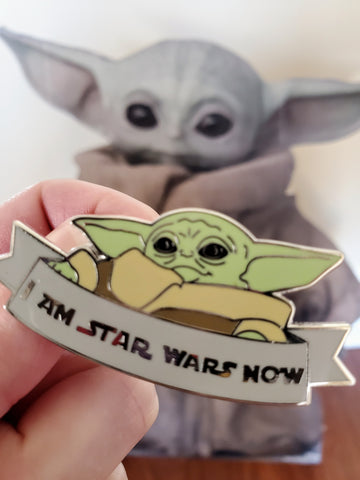 I am Star Wars now pin