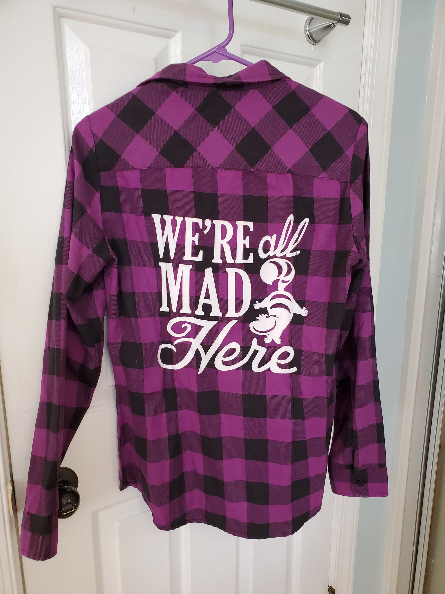 We're all mad here flannel