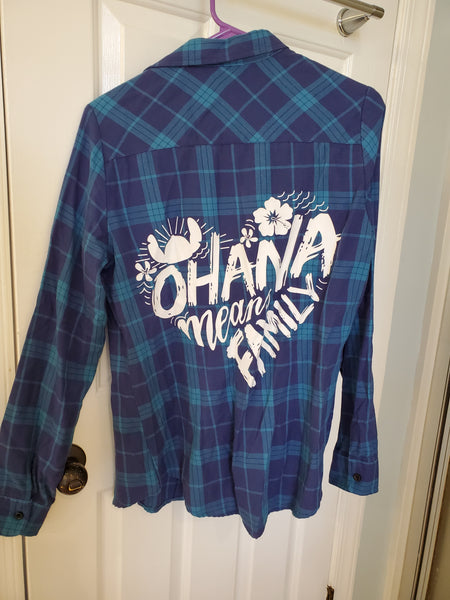 Stitch flannel