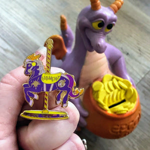 Figment carousel horse