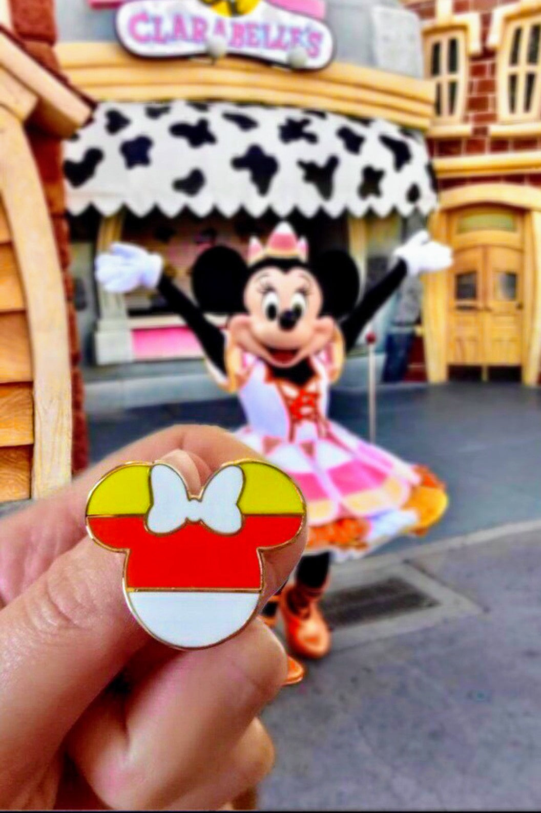 Candy Corn Minnie