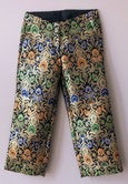 Brocade Capri Pants