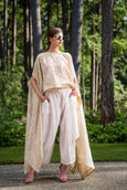 2 Piece Aladdin Pant with Cape Top