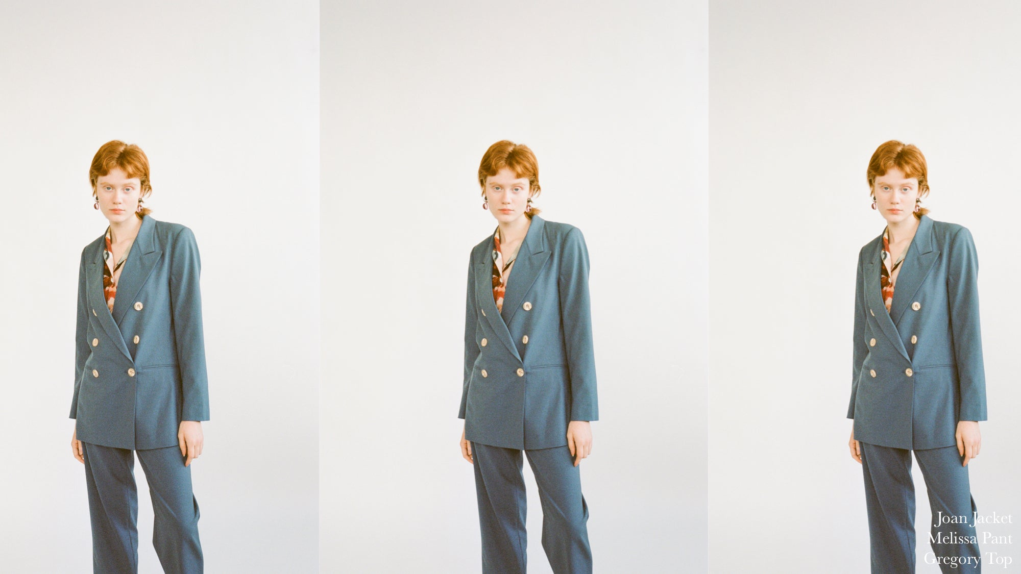 WRAY PF20 Lookbook: Joan Jacket and Melissa Pant, the perfect suit