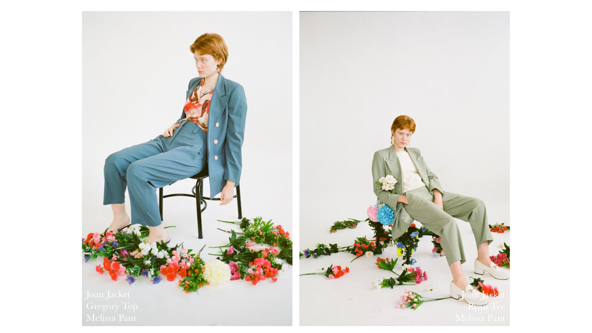 WRAY PF20 Lookbook suiting
