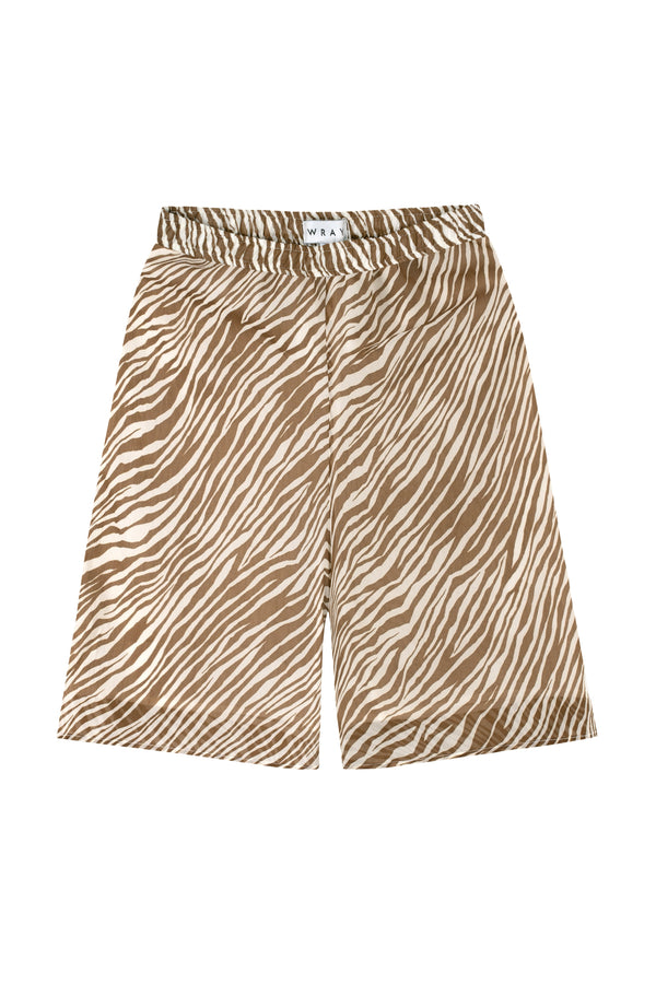 Boxing Short - Toffee Zebra Bottoms WRAY