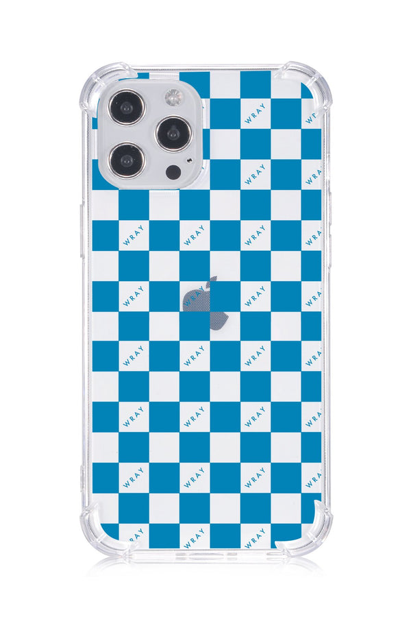Phone Case - Aqua Check Accessories WRAY