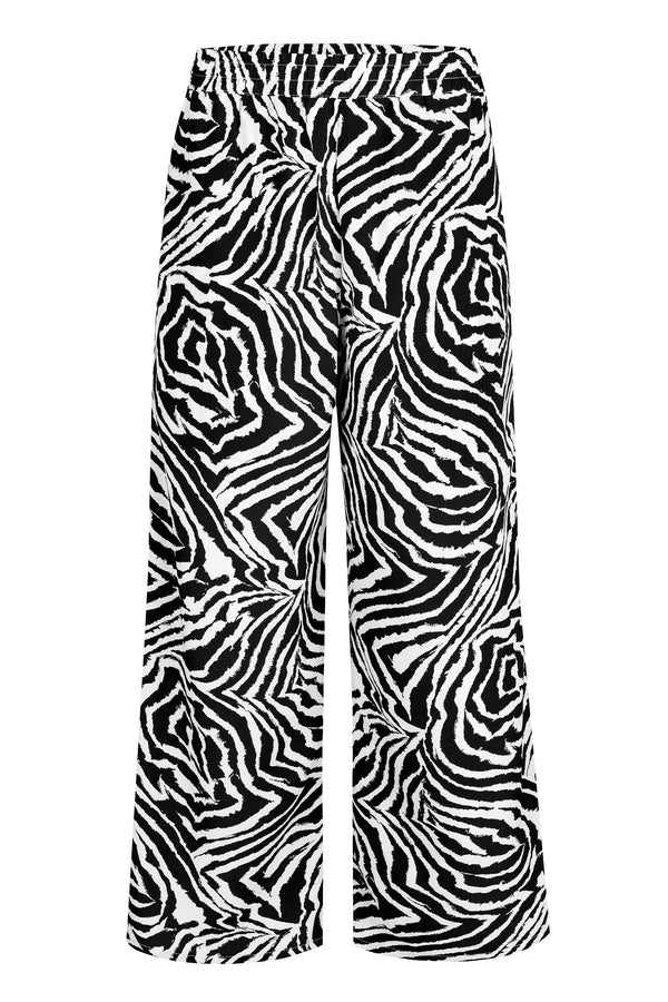 Luna Pant - Chocolate Zebra Swirl Bottoms WRAY