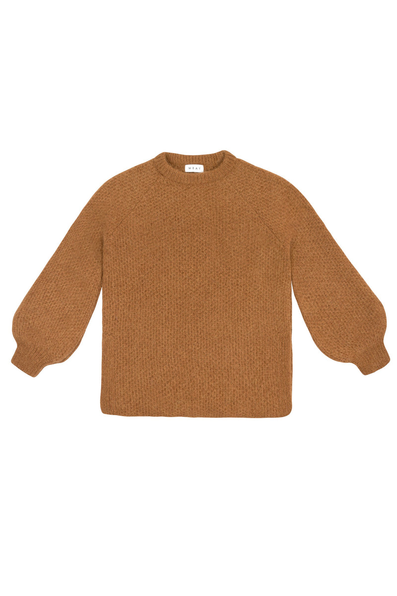 Harold Sweater- Fawn Tops WRAY