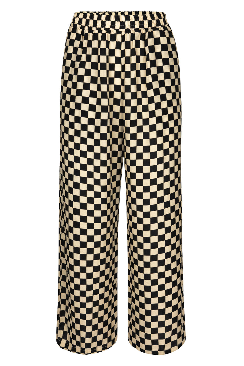 Luna Pant - Diner Check Bottoms WRAY