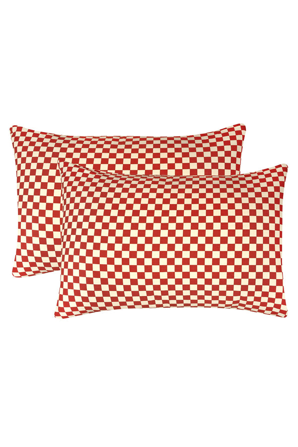 Pillow Case Set - Spice Check Home WRAY
