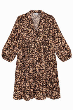 Quinn Dress - Tortoiseshell Dresses WRAY