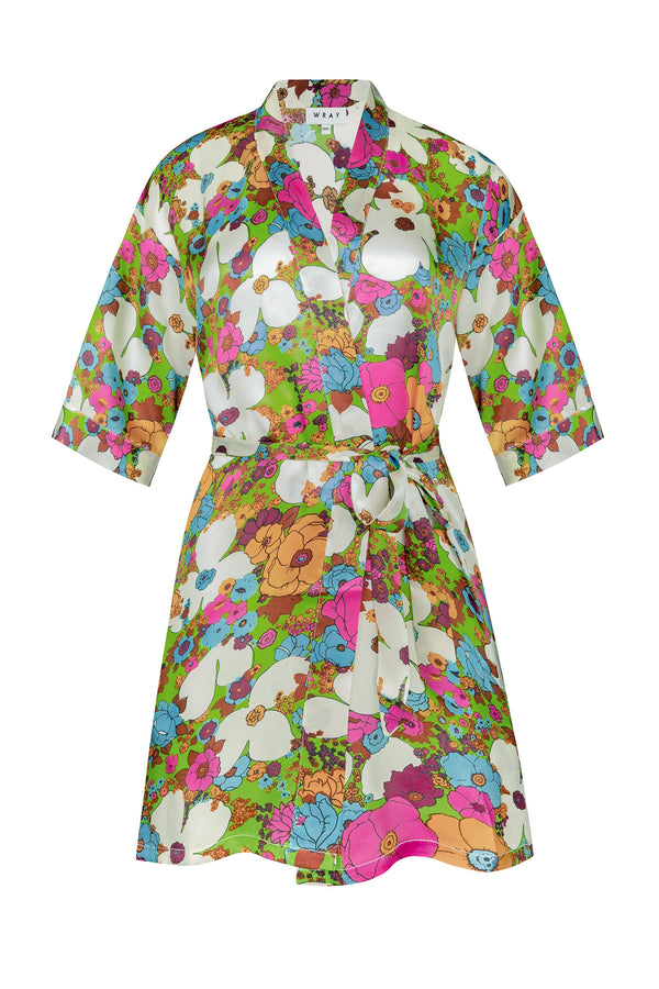 Robe - Acid Floral Accessories WRAY