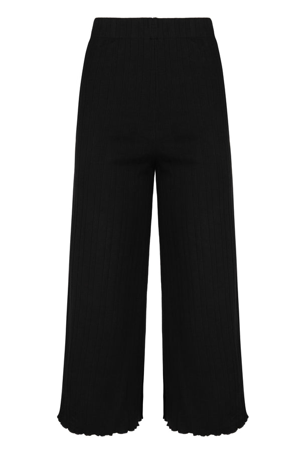 Sabrina Pant - Black Bottoms WRAY