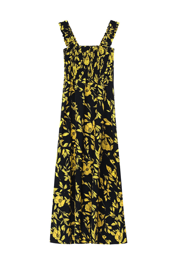 Sally Dress - Taxicab Floral Dresses WRAY
