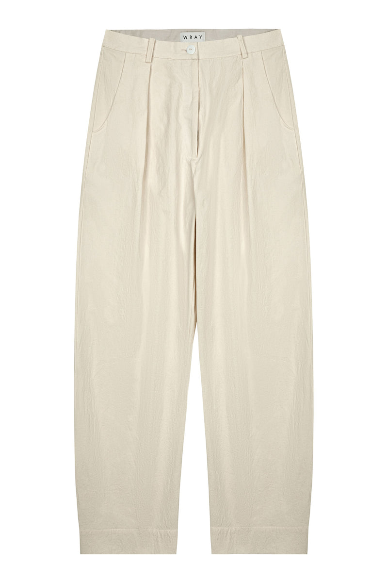 Studio Pant - Off White Bottoms WRAY