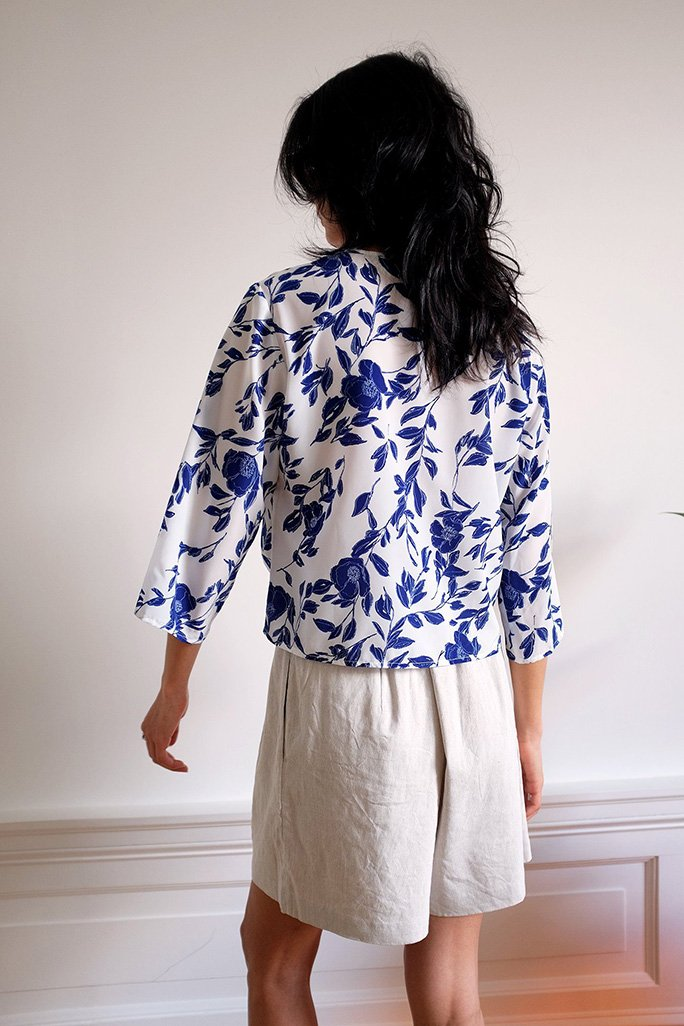 Hayley Top - Pottery Floral Tops WRAY