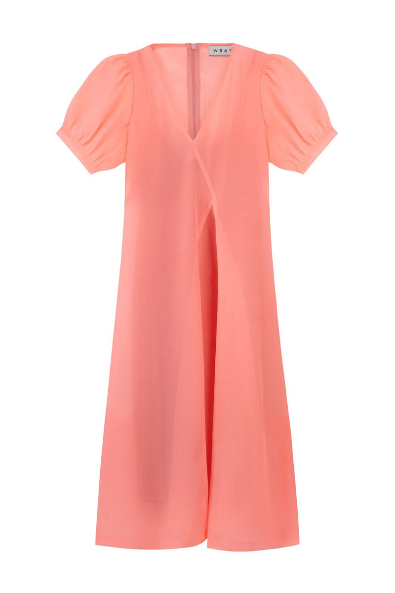 Second Date Dress - Electric Coral Dresses WRAY