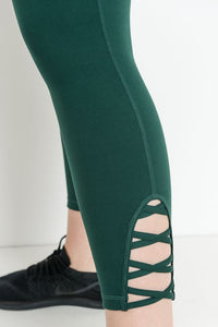 LATTICE STRAP LEGGING