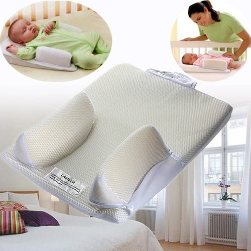 Anti Roll Sleeping Mat -  Infant Newborn Anti Roll Pillow
