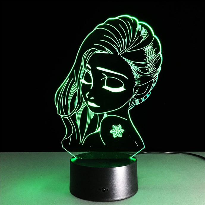 Amazing 3D LED Art Optical Table Night Light for Bedroom Home Decor