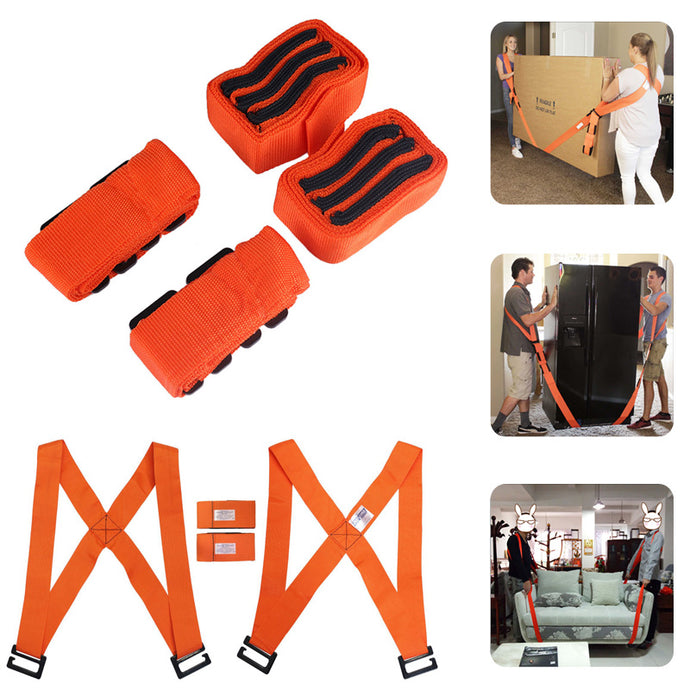 Heavy Furniture Forearm Forklift Lifting Moving Straps Cradle Belt Shoulder Aid