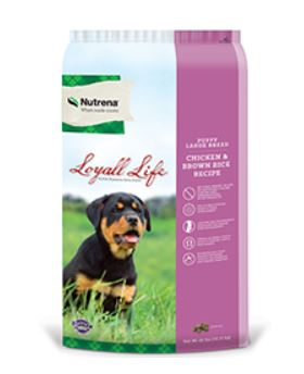 Loyall Life Large Breed Puppy Chicken & Brown Rice Recipe