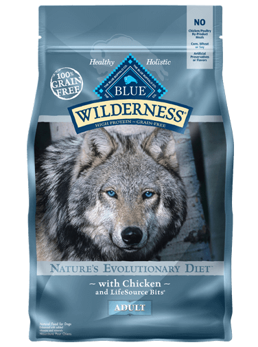 blue wilderness chicken & brown rice