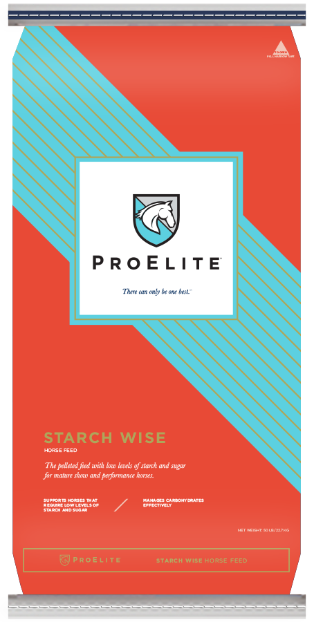 ProElite Starch Wise Horse Feed, 50lb.