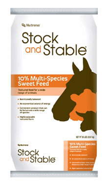Stock and Stable 10% Multi-Species Sweet Feed