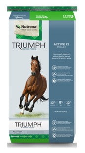 Triumph® 12% Pelleted Horse Feed