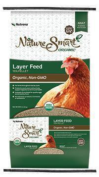 Nature Smart Organic Layer Pellet Feed
