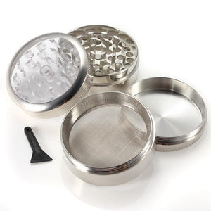 Portable Smoke Clear Top Grinder
