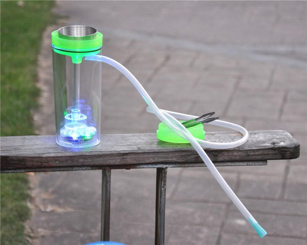 Portable Smoke Portable LED Hookah With Hose