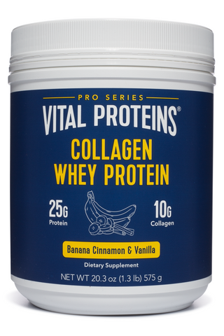 Collagen Whey - Banana Cinnamon & Vanilla