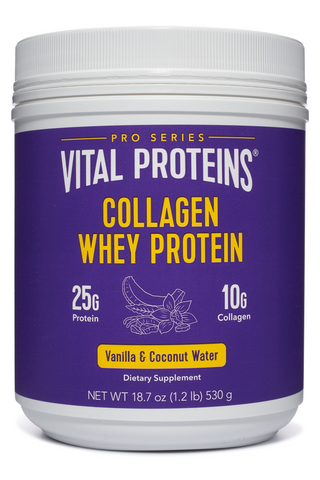 Collagen Whey - Vanilla & Coconut Water