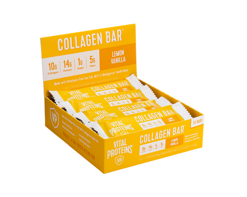 Collagen Bar Lemon Vanilla 12 Pack