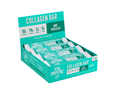 Collagen Bar Mint Chocolate 12 Pack