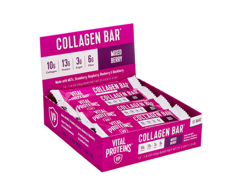 Collagen Bar Mixed Berry 12 Pack